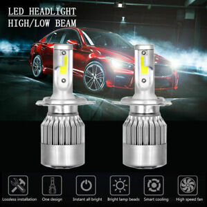 Fit 1997 2002 Mitsubishi Mirage Coupe Headlights Replacement Lamps Bulbs Pair