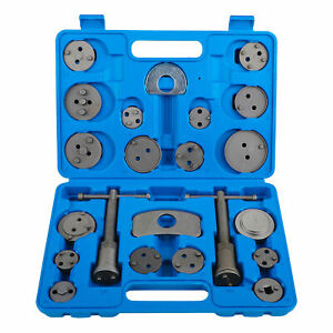 22 Pcs Disc Brake Caliper Rewind Piston Pad Wind Back Car Auto Tool Set Kit