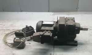 Sew Eurodrive Gear Motor_type R47 Dr63m4_with Cable And Box_tag Hard To Read