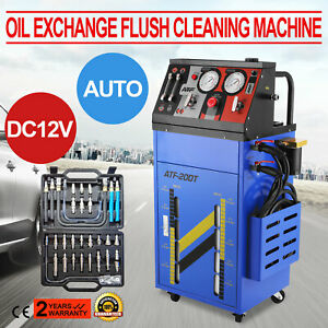 Transmission Fluid Oil Exchange Flush Cleaning Machine 12v Auto Kit Accessories