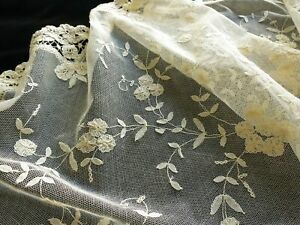 Romantic Antique Princess Lace Table Runner 16x36
