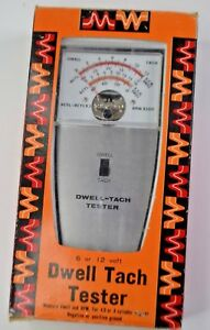 Dwell Tach Tester 6 Or 12 Tune Your Own Vehicle 1 35