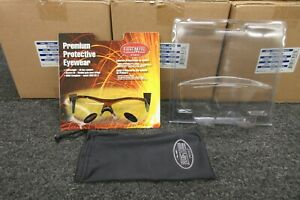 Fibre metal Protective Safety Glasses Shooting Goggle Riding Uv Z87 1 Clear Fmx