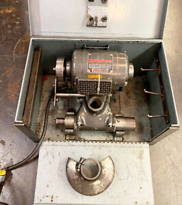 Dumore 5 021 Tool Post Lathe Grinder 1 2 Hp Machinist W Box Accessories