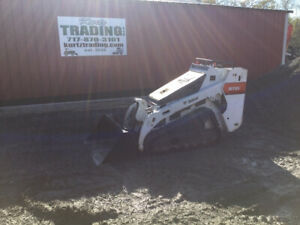2017 Bobcat Mt85 Stand On Compact Track Skid Steer Loader Only 400 Hours