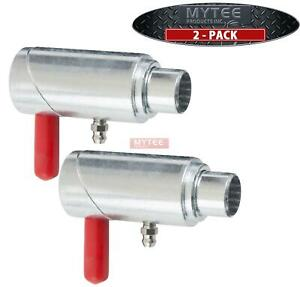 2 Pack 1 2 Spring Loaded Cam Lock For Wreckers Tow Truck Twist Lock Plunger P