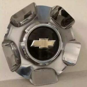 2009 2013 Chevrolet Tahoe Silverado Avalanche Chrome Oem Center Cap P N 9597345
