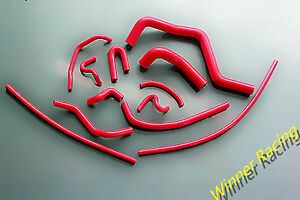 Silicone Radiator heater Hose For Honda Acura Integra Gs ls rs B18 Db7 94 01 Red