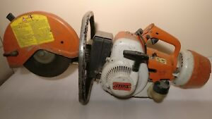 Stihl Ts 350 Concrete Cut off Saw Gas powered