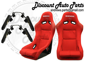 Bride Zieg Black Seats Low Max Jdm Bucket Auto X Racing Drift Pair Vios Zeta