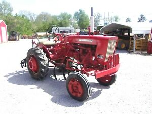 Ih 140 Tractor With Cultivators shipping 1 85 Loaded Mi