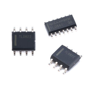 Low Power Jfet Input Op Amp Quad Dual Single Tl084 Soic 14 Tl082 Soic 8 Smd Ic