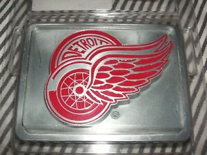 Nip Chrome Nhl Red Wings Hitch Cover Towing Receiver Red Enamel Toyota Detroit