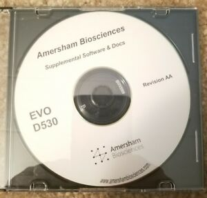 Amersham Bioscience Supplemental Software And Docs Evod530
