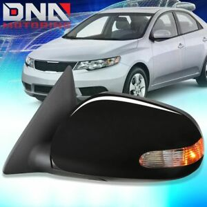 For 2010 2013 Kia Forte Koup Power heated signal Lh Left Side Mirror 876051m000