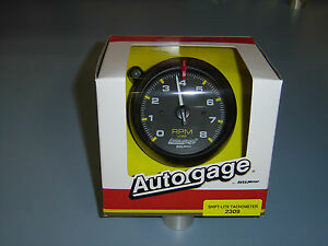 Auto Meter 2309 Auto Gauge Tachometer Shift Light Tach