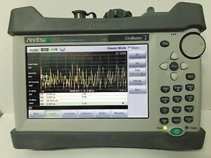 Orignal Anritsu S331l Sitemaster With Battery Charger Bag 90 Into New