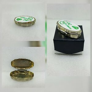 Old Metal Small Needle Sewing Case Box Collectable Item