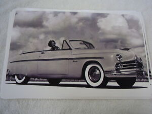 1949 Lincoln Convertible 11 X 17 Photo Picture