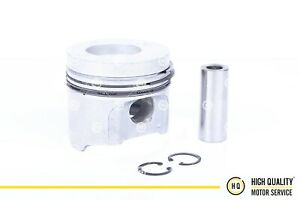Piston With Rings Std For Kubota 16641 21112 V2203 Di 87mm