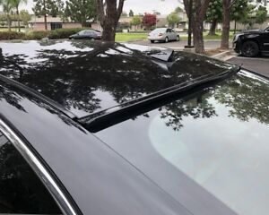 Premium Painted Black Fit 2013 2017 Honda Accord 4d Rear Window Roof Spoiler