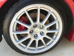 Mitsubishi Evo X Gsr Enkei Wheel Rim 12 Spoke 18 Evolution 10 Oem 2008 2015