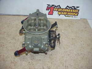Braswell Holley Hp 830 Cfm Annular Boosters Gas Racing Carburetor Nascar Dei32