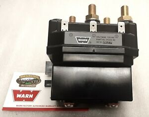 Warn 91222 Contactor For Powerplant 9 5 12 Truck Winch