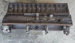 Chevy 261 Block Full Flow 060 Over Each Cylinder Has Been Sleeved