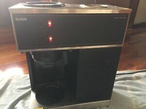 Bunn Vpr Blk 12 Cup Commercial Coffee Maker Brewer 2 Warmers No Coffee Pot