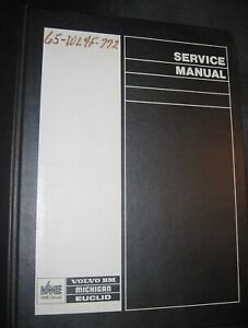 Volvo L120 Wheel Loader Service Manual