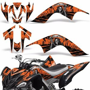 Decal Graphic Kit Yamaha Raptor 700 ATV Quad Decal Wrap 700R Deco 07-12 REAP ORG