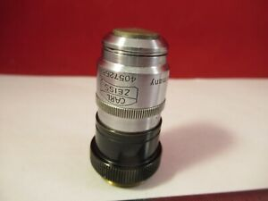 Zeiss Objective 100x 160 Iris Optics Microscope Part As Pictured 10 b 27