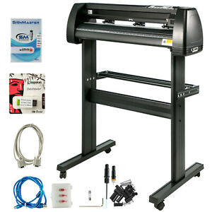 Vinyl Cutter Plotter Cutting 34 Sign Maker Backlight Usb Port Lcd Display