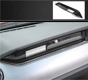 For 2015 2019 Mustang Carbon Fiber Car Interior Center Console Panel Decal Trim