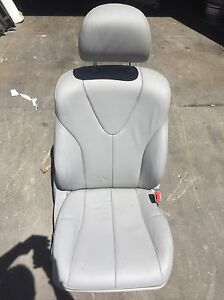 07 08 09 Toyota Camry Front Right Power Operated Seat Leather Gray With Airbag