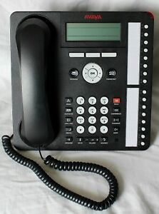 Avaya 700450190 1616 Black Voip Ip Office Telephone 1616d01a 003