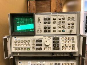 Hp Agilent 8566b 100 Hz 22 Ghz Spectrum Analyzer With 85662a Display
