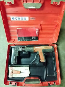Hilti Dx351 Fully Automatic Powder actuated Tool W X mx32 Magazine Free Ship