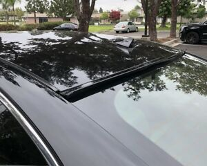 Painted Black For 2008 2009 2012 Honda Accord 2d Coupe rear Window Roof Spoiler