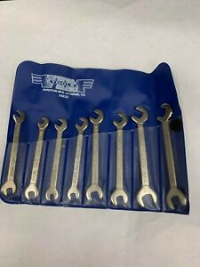 Vim Tools Vm50 8 Pc Ignition Wrench Set In Blue Roll Pouch