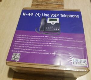 Xblue Networks X 44 4 Line Voip Telephone 47 9101 new Sealed