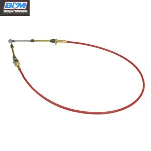 B M 80605 Performance Shifter Cable Reduces Backlash 5 Ft Eyelet Threaded