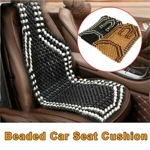 Auto Car Summer Cool Natural Wooden Beaded Car Seat Cover Massage Home Cushion