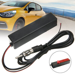 Universal Car Auto Electronic Stereo Am Fm Radio 12v Hidden Amplified Antenna