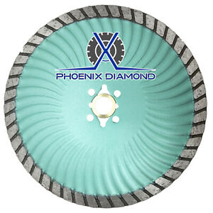 7 Rogue X Turbo Diamond Blade Wet dry Cut For Granite Marble Stone Concrete