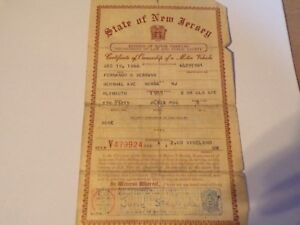 1955 Plymouth Coupe Historical Paperwork Document Hot Rod Rat Rod Rare
