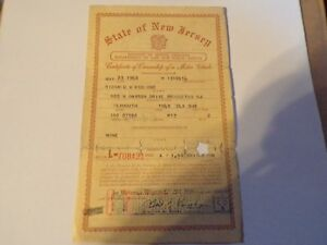 1949 Plymouth Deluxe Historical Paperwork Document Hot Rod Rat Rod Rare