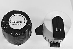 1 Roll Non Oem Compatible Brother 2205 Brother Shipping Labels Ql 1 Free Frame
