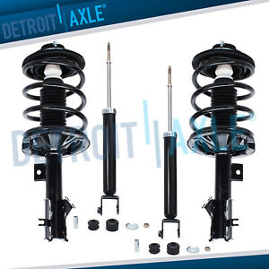 Front Struts Coil Spring Rear Shock Absorbers For 2004 2008 Nissan Maxima